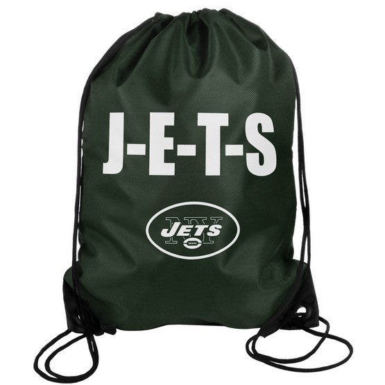 New York Jets Drawstring Bag Slogan