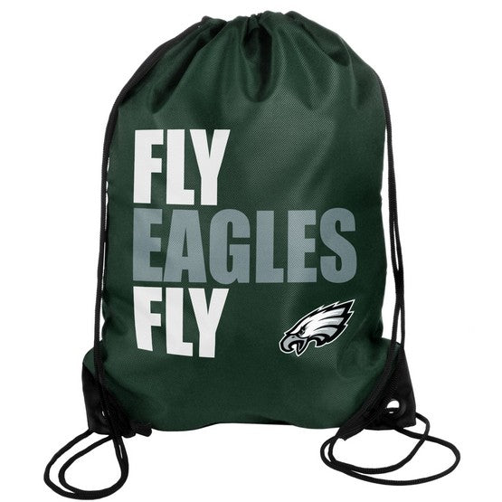 Philadelphia Eagles Drawstring Bag Slogan