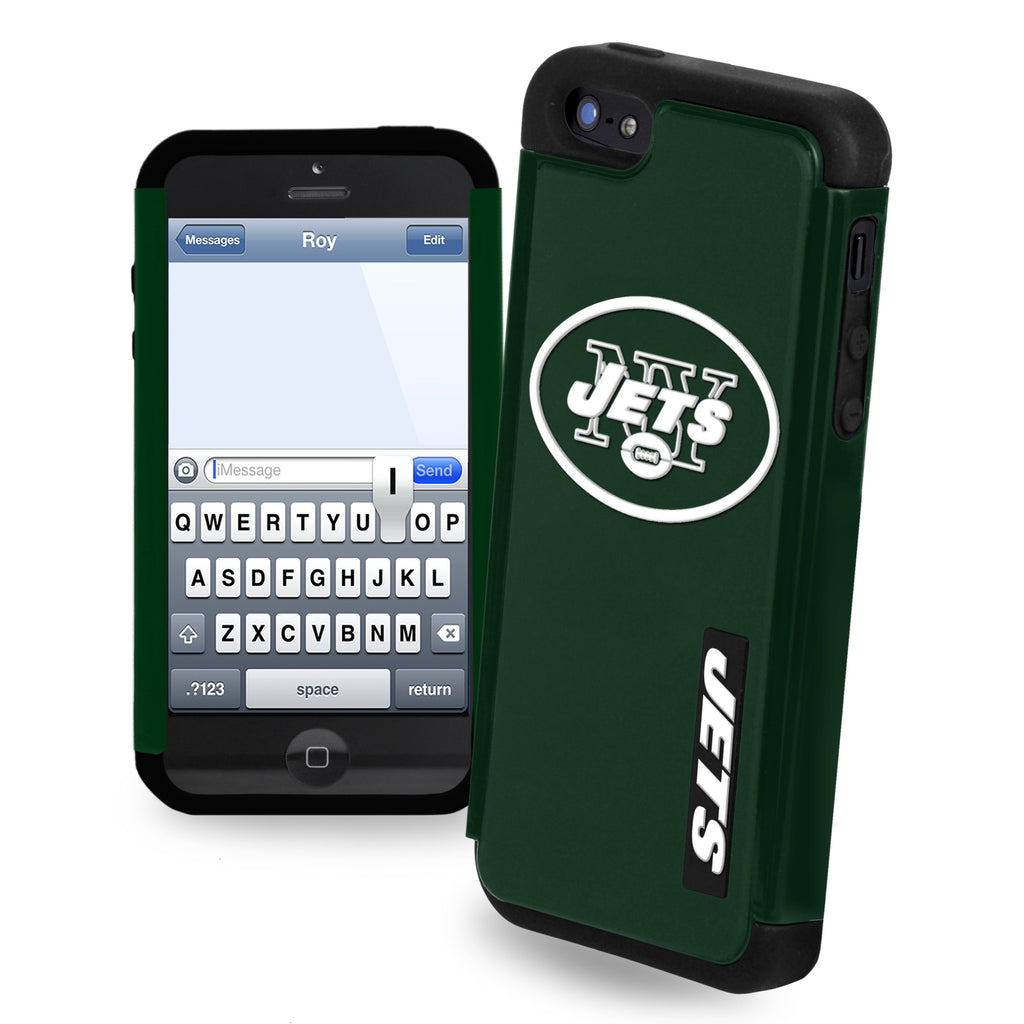 New York Jets Dual Hybrid i5 Case