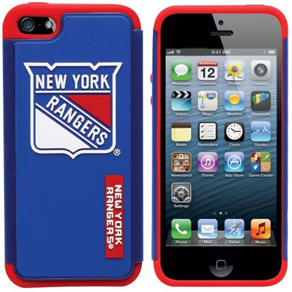 New York Rangers Dual Hybrid i5 Case