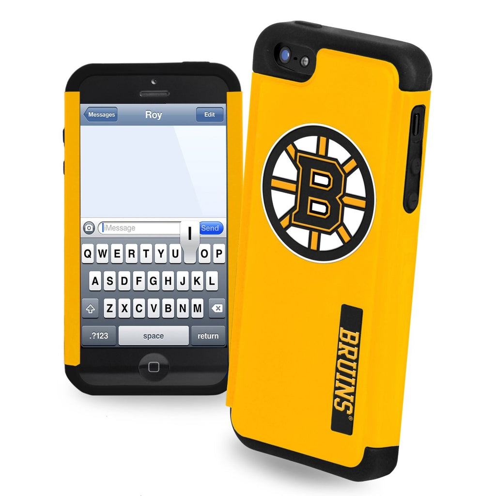 Boston Bruins Dual Hybrid i5 TPU Case