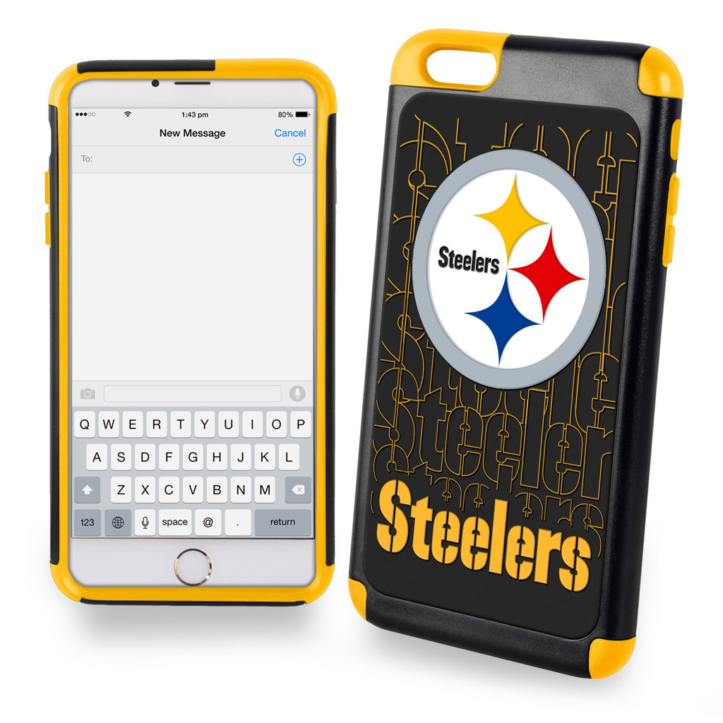 Pittsburgh Steelers Dual Hybrid i6 TPU Case