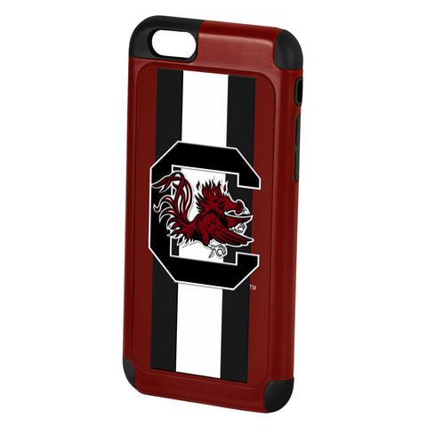 South Carolina Gamecocks Dual Hybrid i6 TPU Case