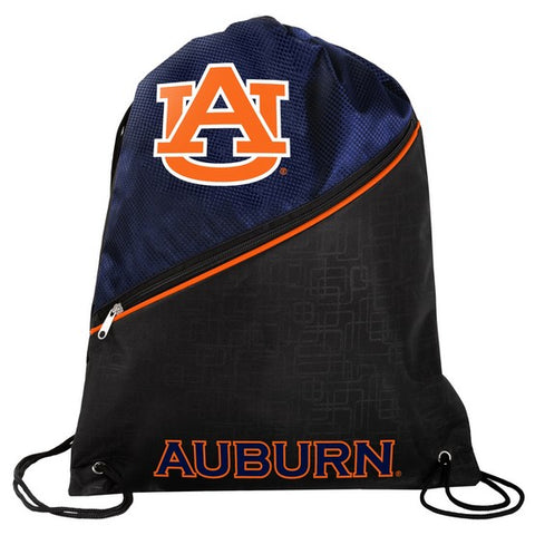 Auburn Tigers Diagonal Zip Drawstring