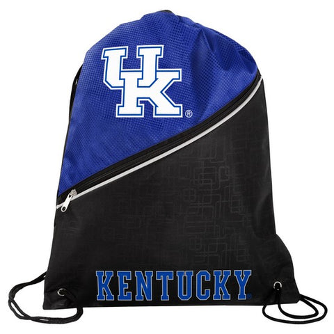 Kentucky Wildcats Diagonal Zip Drawstring