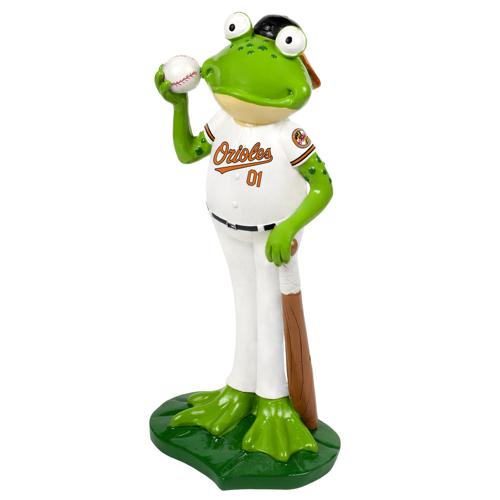Baltimore Orioles Frog Player Figurine