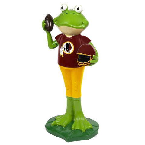 Washington Redskins Frog Player Figurine