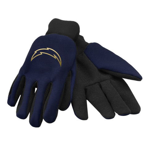 Los Angeles Chargers Foil Print Gloves