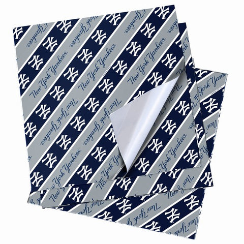 New York Yankees Folded Wrapping Paper