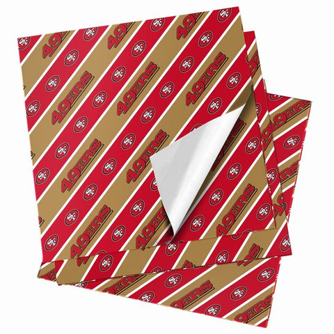 San Francisco 49ers Folded Wrapping Paper
