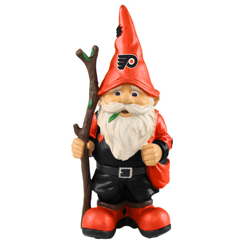 Philadelphia Flyers Gnome Holding Walking Stick