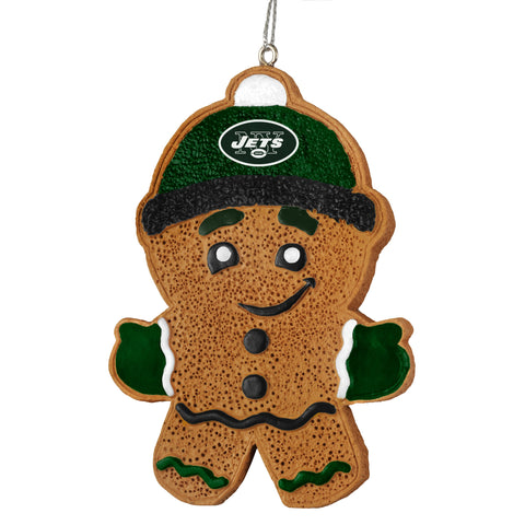 New York Jets Gingerbread Man Ornament