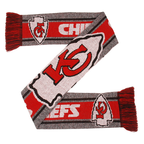 Kansas City Chiefs Gray Big Logo Scarf