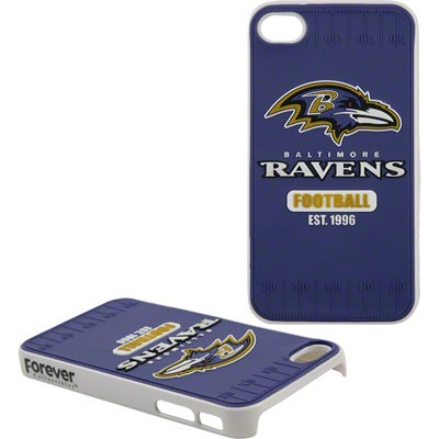 Baltimore Ravens Hard Case iPhone4 Logo