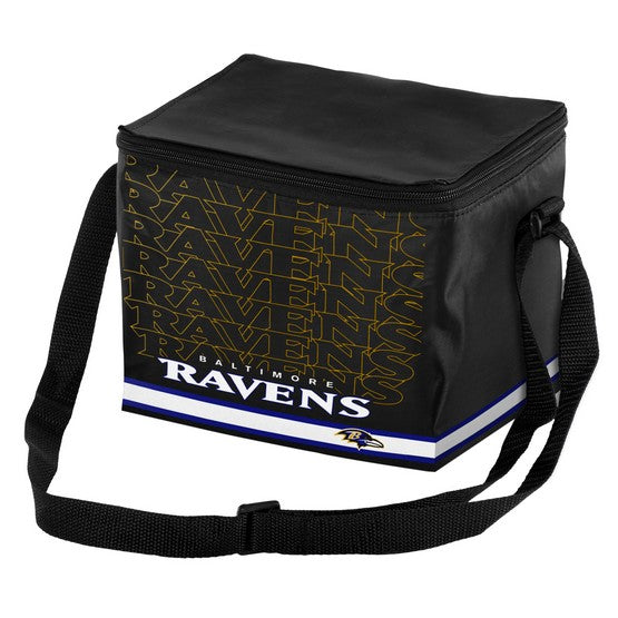 Baltimore Ravens Impact 6 Pack Lunch Bag