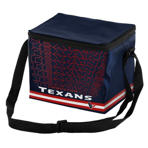 Houston Texans Impact 6 Pack Lunch Bag