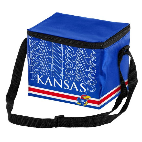 Kansas Jayhawks Impact 6 Pack Lunch Bag