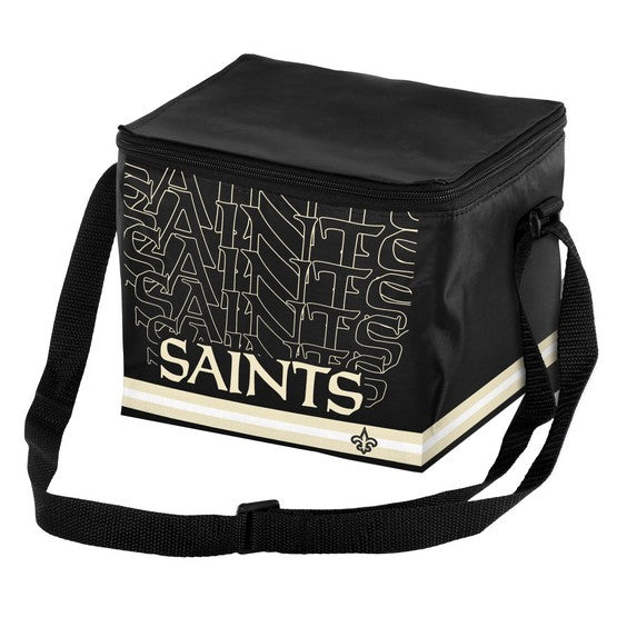 New Orleans Saints Impact 6 Pack Lunch Bag