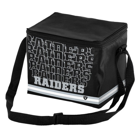 Oakland Raiders Impact 6 Pack Lunch Bag