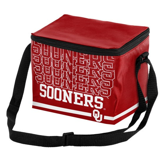 Oklahoma Sooners Impact 6 Pack Lunch Bag