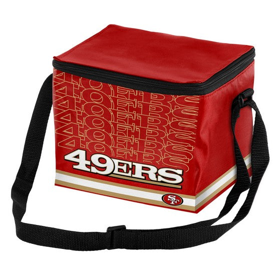 San Francisco 49ers Impact 6 Pack Lunch Bag