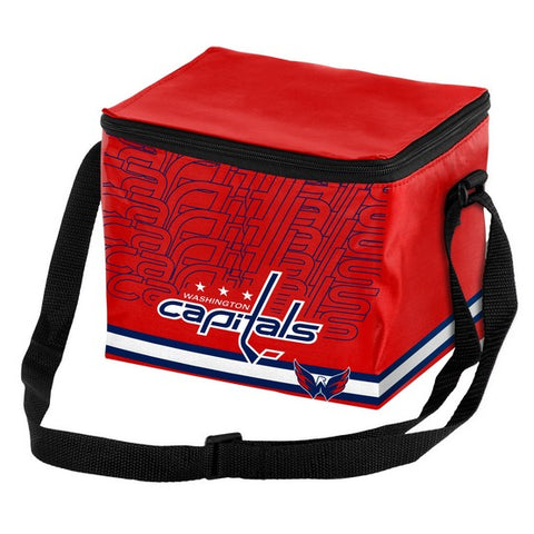 Washington Capitals Impact 6 Pack Lunch Bag