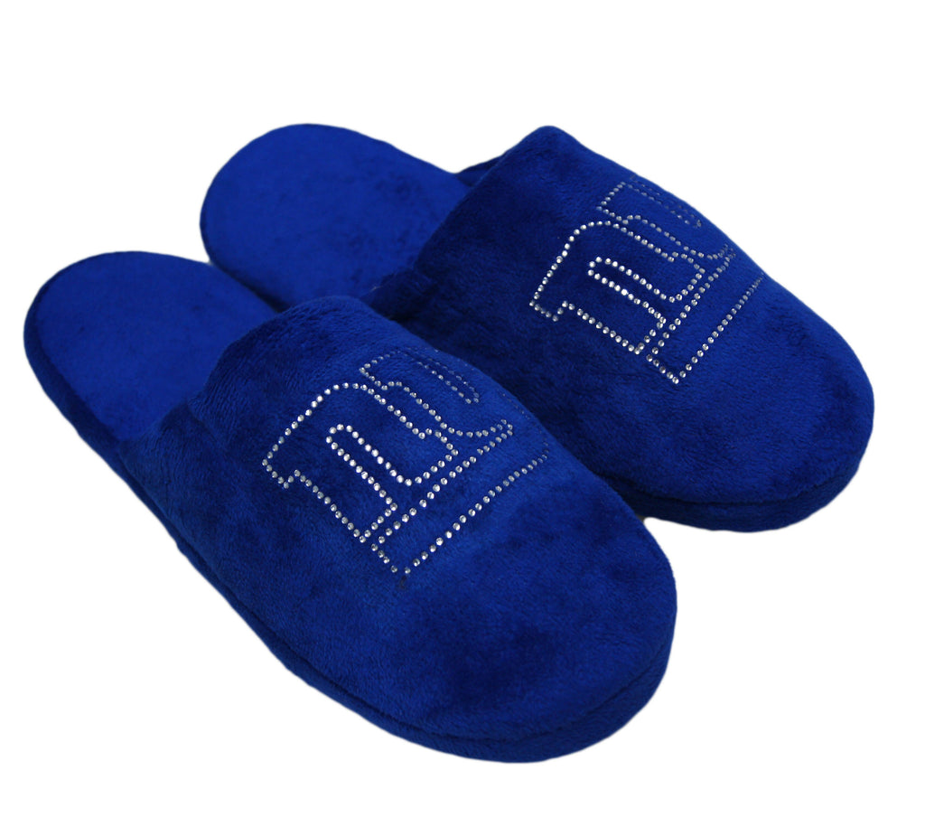 New York Giants Jeweled Slippers