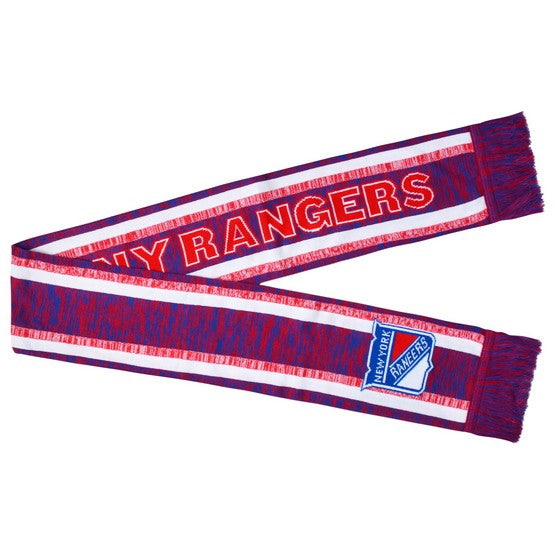 New York Rangers Knit Color Blend Scarf