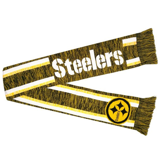 Pittsburgh Steelers Knit Color Blend Scarf