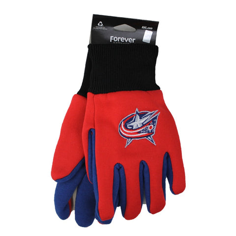Columbus Blue Jackets Kid Sport Utility Gloves