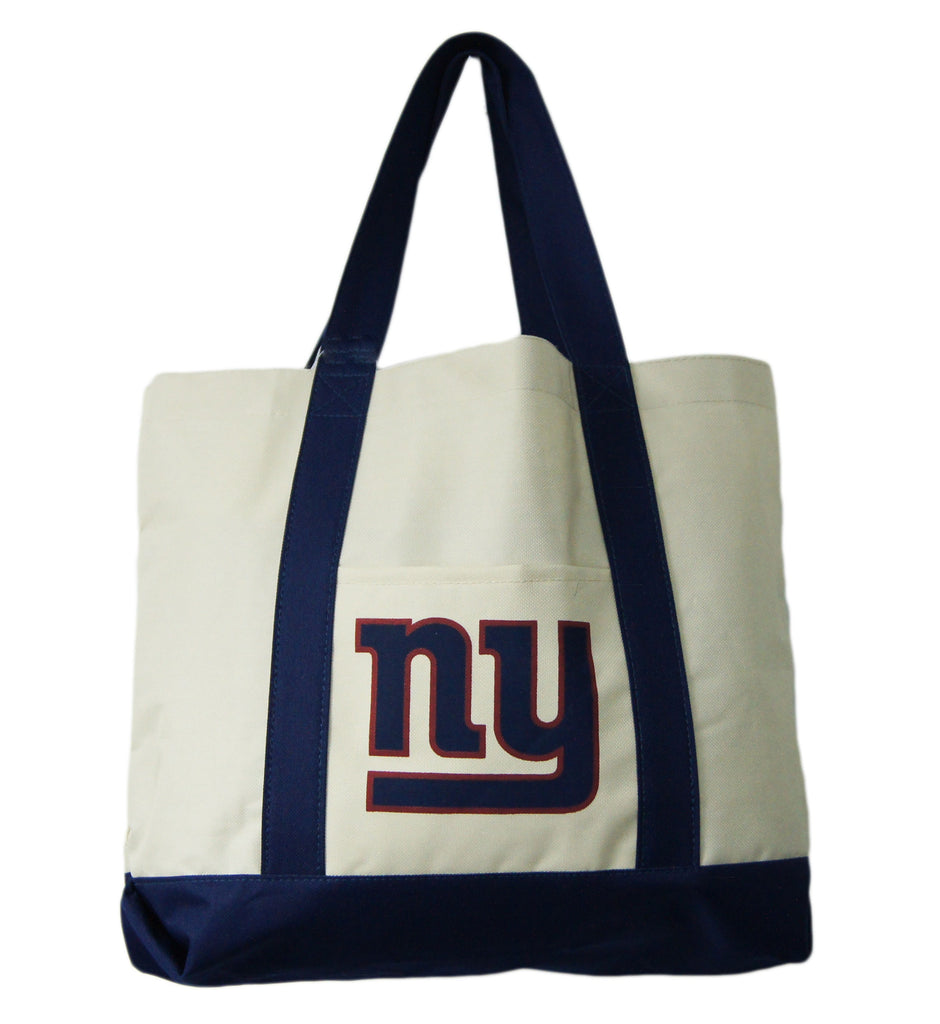 New York Giants Large Khaki Tote
