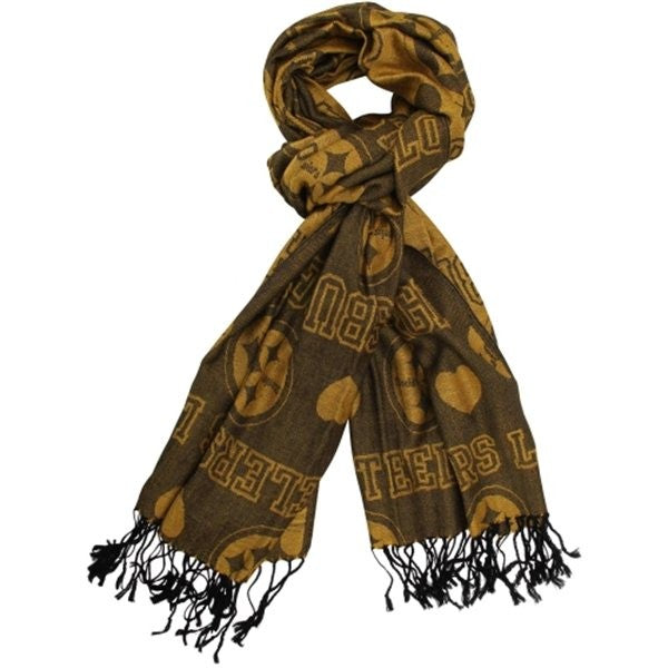 Pittsburgh Steelers Love Pashmina Scarf