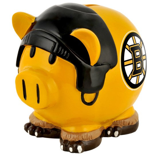 Boston Bruins Lg Thematic Piggy Bank
