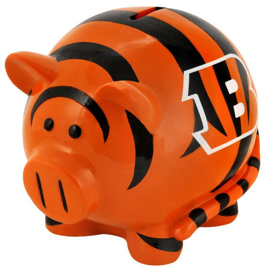 Cincinnati Bengals Lg Thematic Piggy Bank