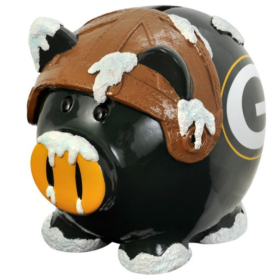 Green Bay Packers Lg Thematic Piggy Bank