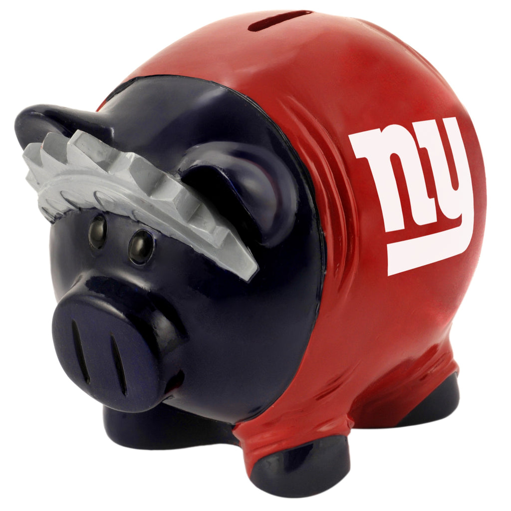 New York Giants Lg Thematic Piggy Bank