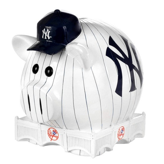 New York Yankees Lg Thematic Piggy Bank