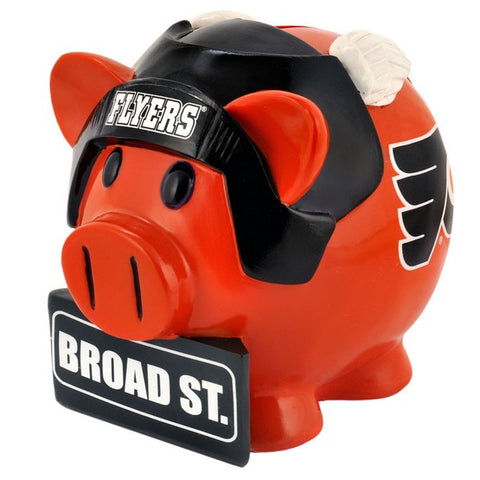 Philadelphia Flyers Lg Thematic Piggy Bank