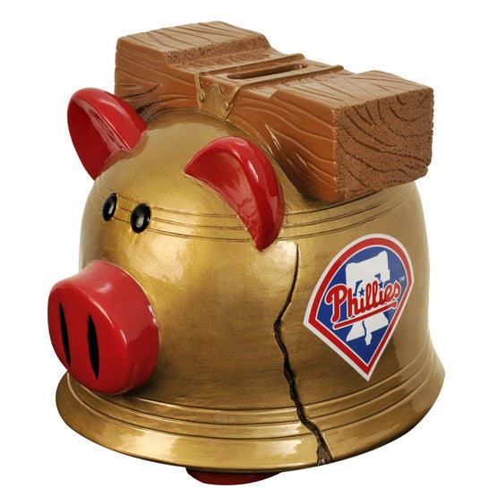 Philadelphia Phillies Lg Thematic Piggy Bank
