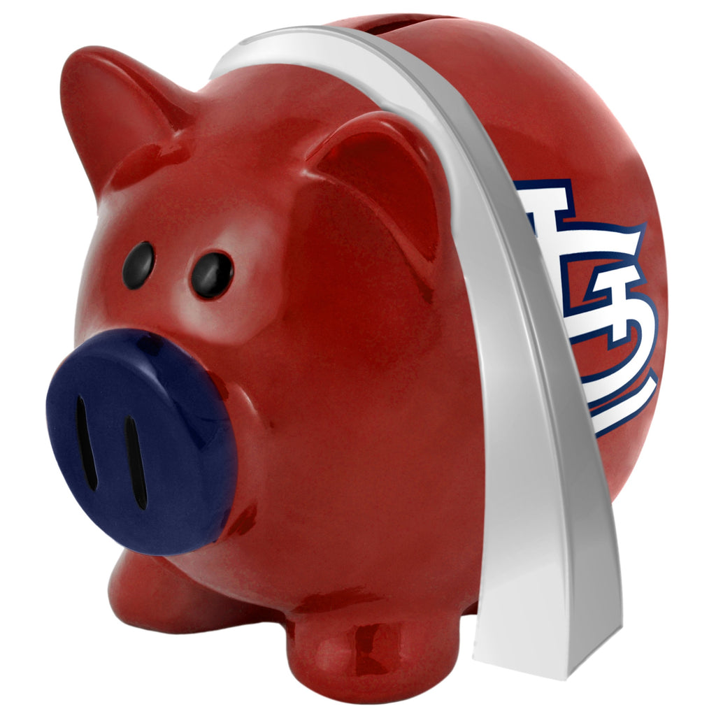 St. Louis Cardinals Lg Thematic Piggy Bank