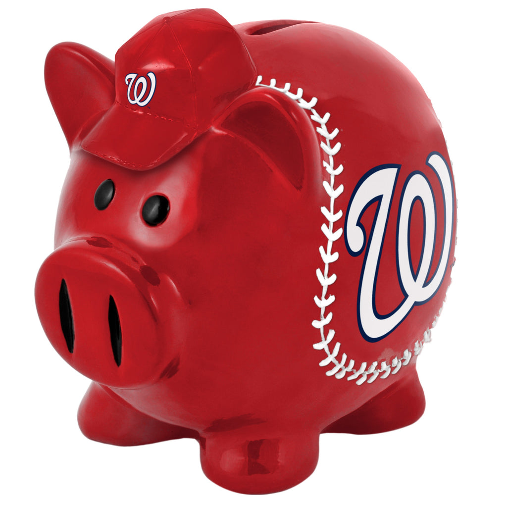 Washington Nationals Lg Thematic Piggy Bank