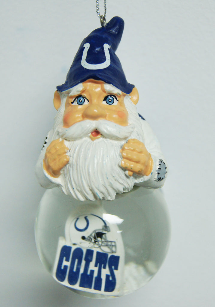 Indianapolis Colts Light Up Gnome Ornament