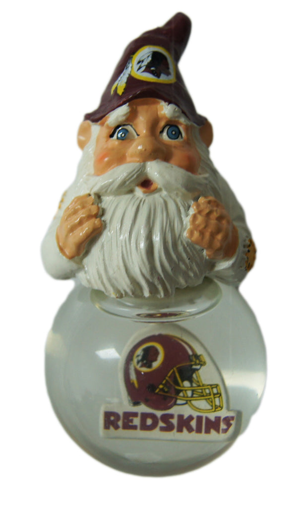 Washington Redskins Light Up Gnome Ornament