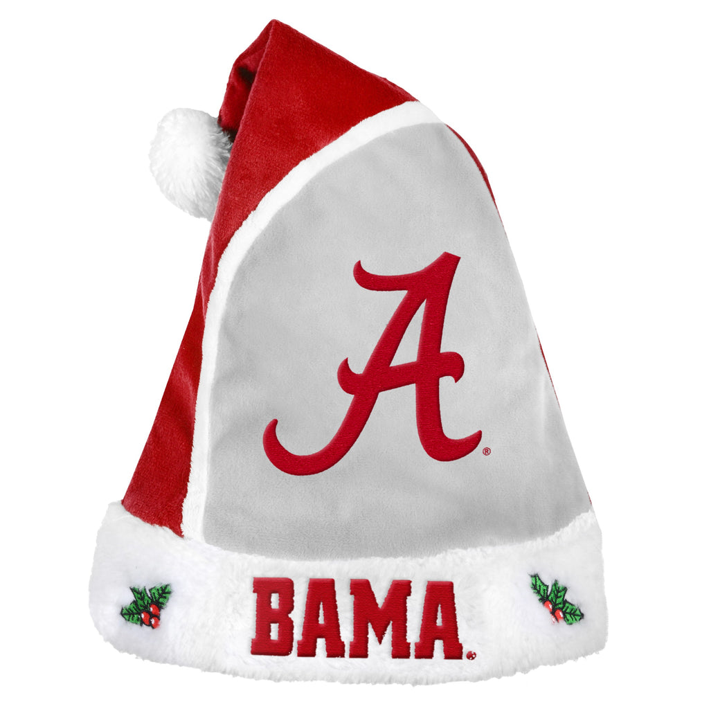 Alabama Crimson Tide Multi Color Santa Hat