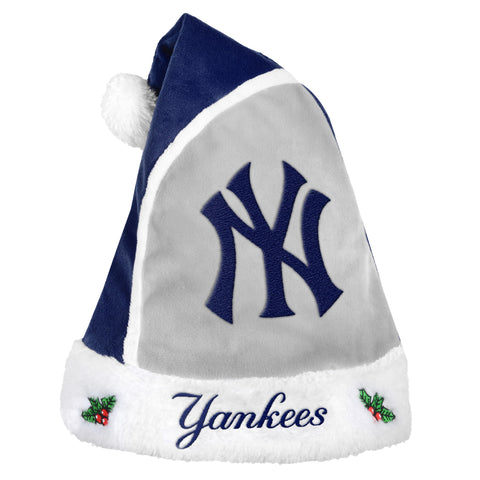 New York Yankees Multi Color Santa Hat