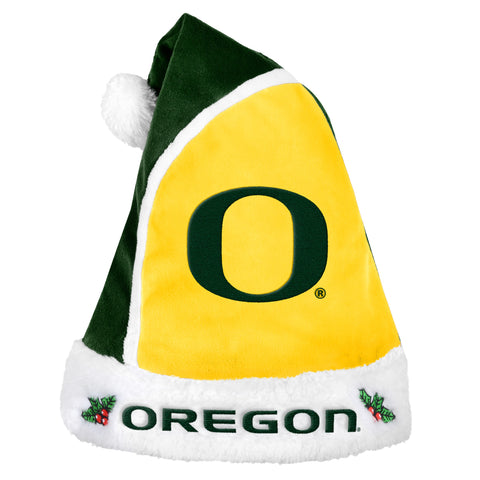 Oregon Ducks Multi Color Santa Hat