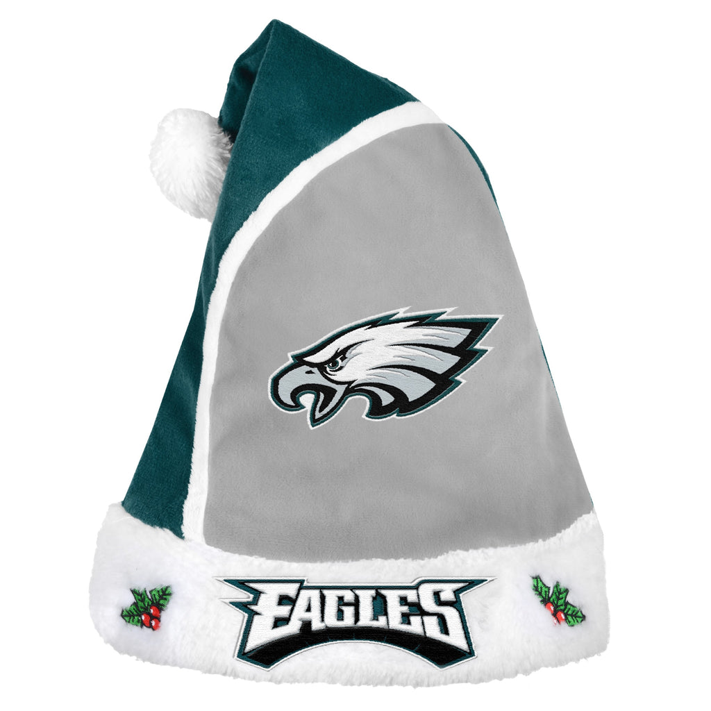 Philadelphia Eagles Multi Color Santa Hat