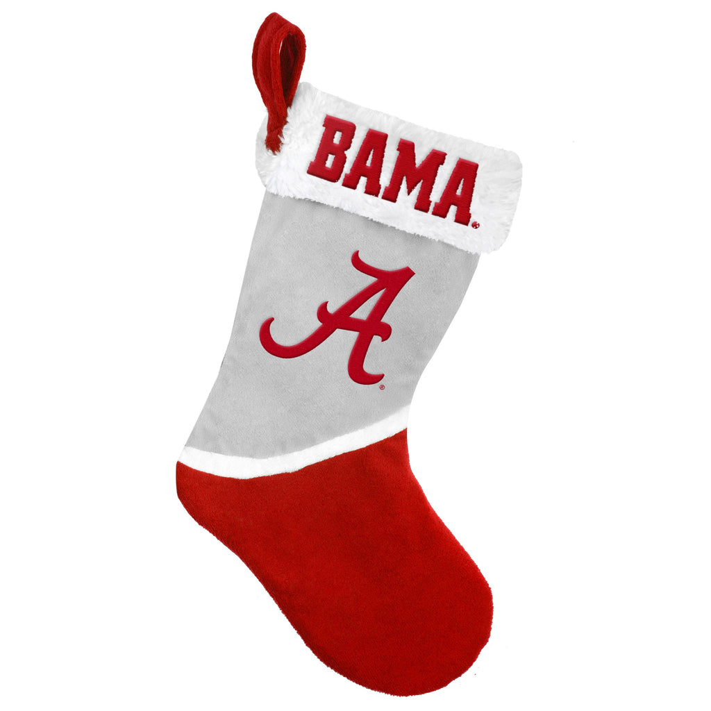 Alabama Crimson Tide Multi Color Santa Stock