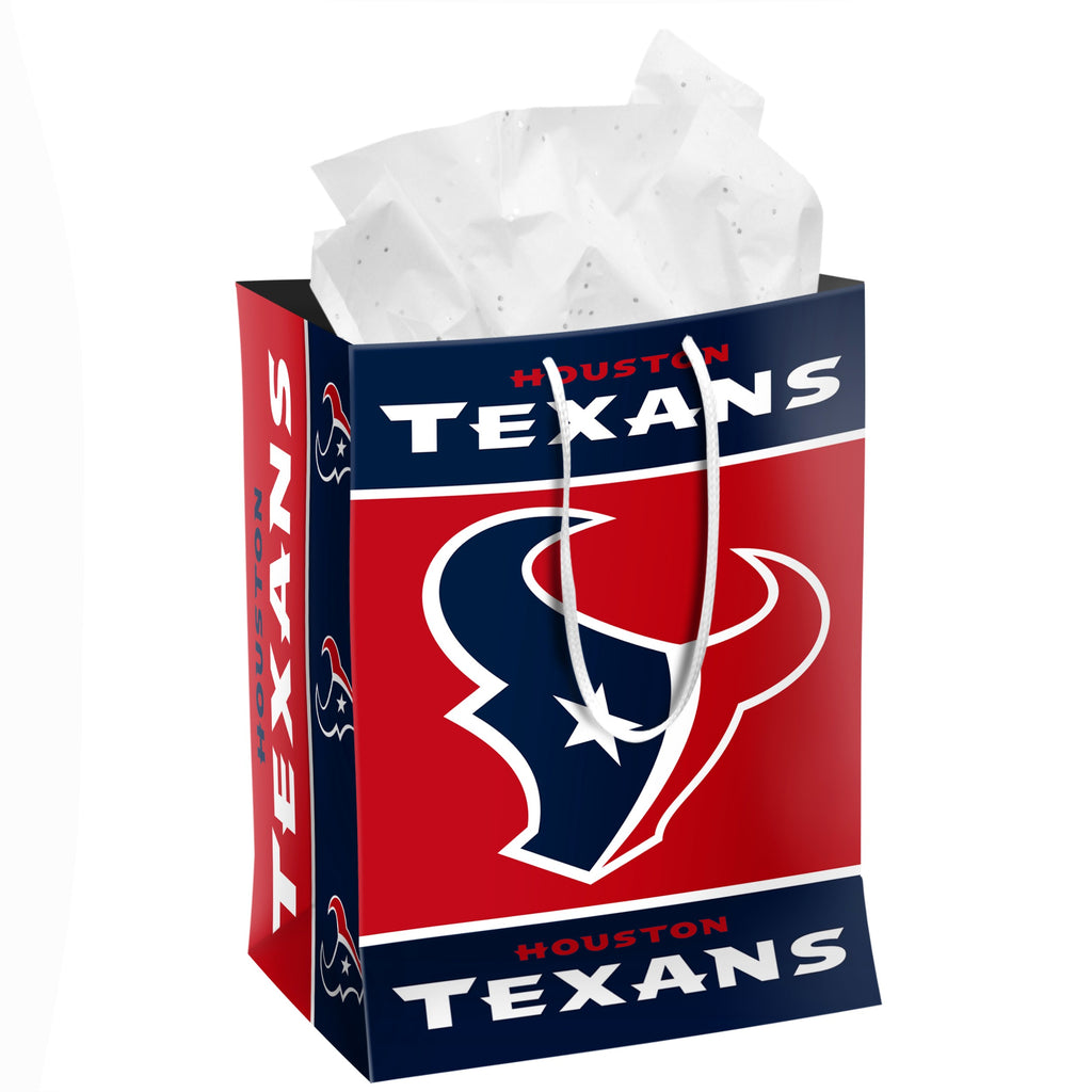 Houston Texans Medium Gift Bag