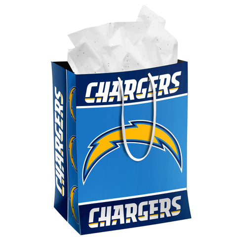 Los Angeles Chargers Medium Gift Bag